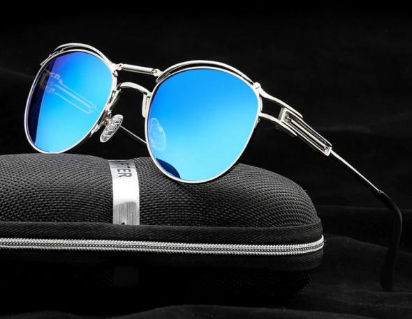 Okulary słoneczne HDCRAFTER spolaryzowane Punk
