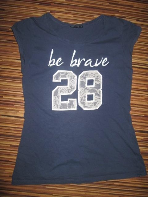 Bluzka BE BRAVE koszulka rozmiar S TERRANOVA...
