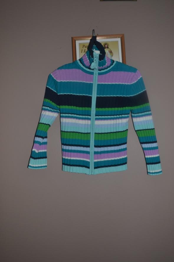Golf sweterek 122cm 128cm 6 7 8 lat 9 lat