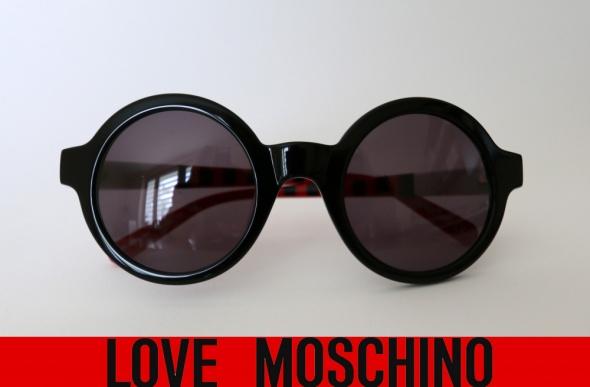 okulary przeciwsłoneczne Moschino...