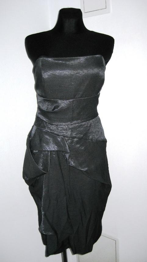 Sukienka z piękną fakturą Karen Millen na wesele M