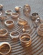 Srebrne pierścionki...