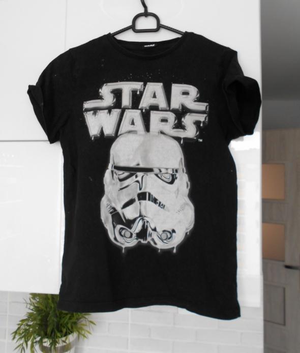 Star Wars koszulka gwiezdne wojny tshirt czarny...