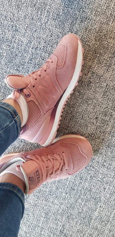 New Balance Różowe Wygodne buty