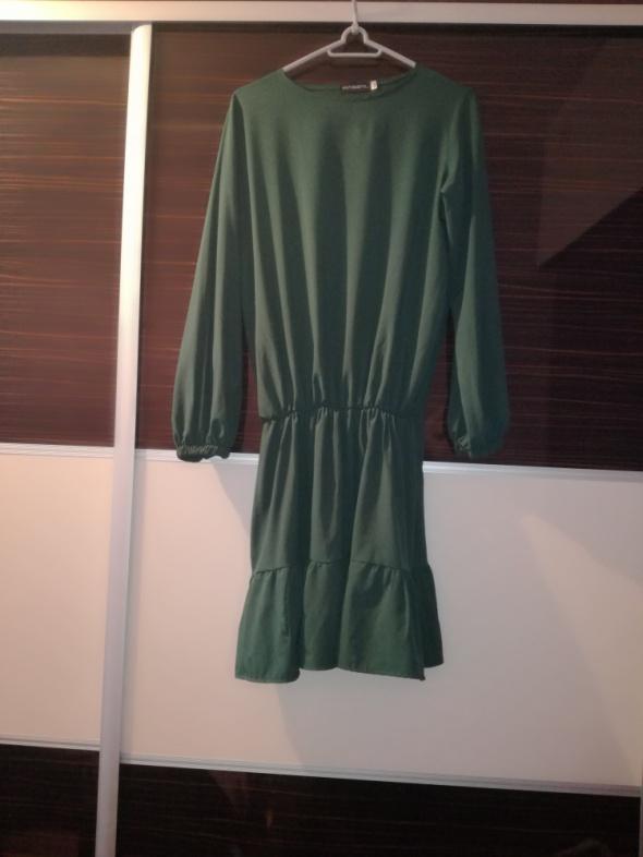 Sukienka butelkowa zieleń M L