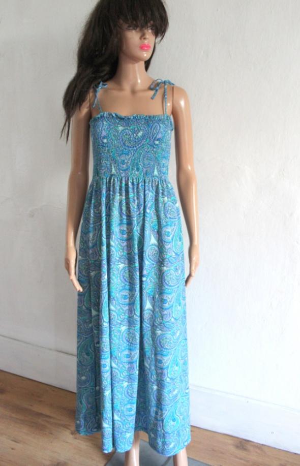 Letnia sukienka maxi na ramiączkach r XS...