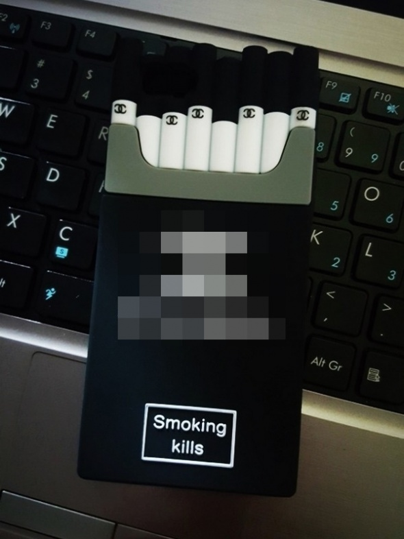 Case iPhone 6 Smoking Kills