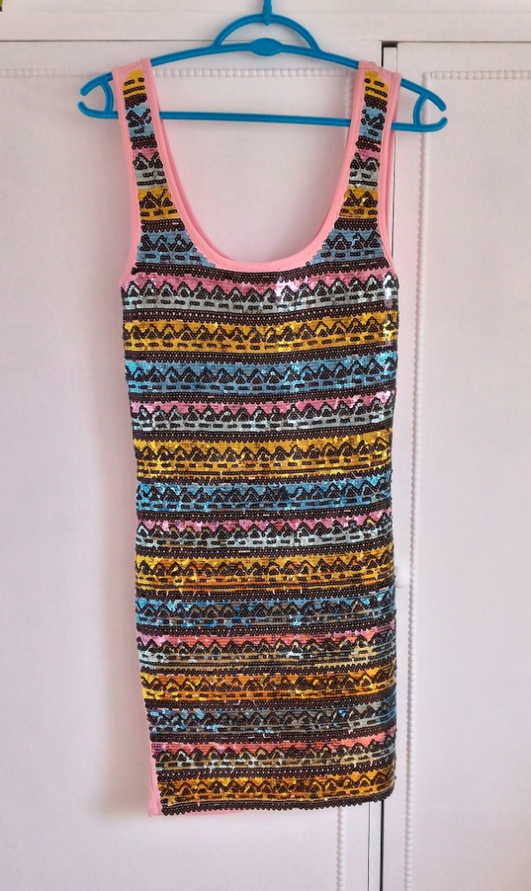 Nowa sukienka Miss Selfridge aztecki wzór aztec mi...