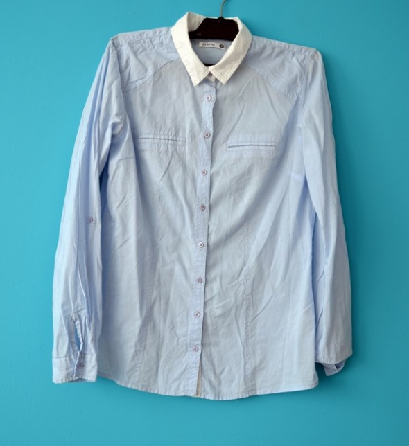 Koszule Koszula błękitna sinsay