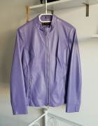 Skórzana kurtka lilia zip...