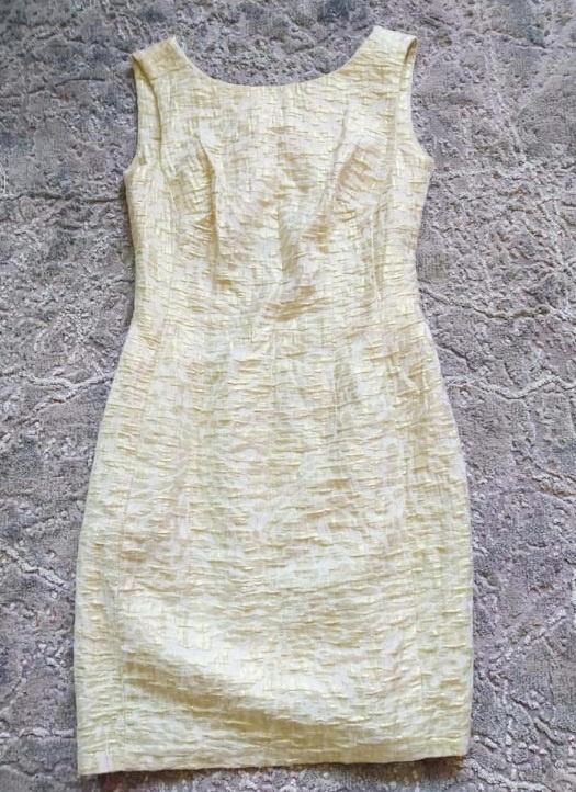 Złota sukienka glamour S