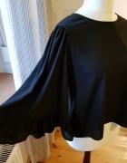 ZARA czarna elegancka bluzka