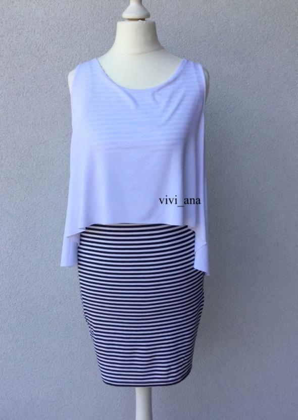 NOWA sukienka w paski By o la la S