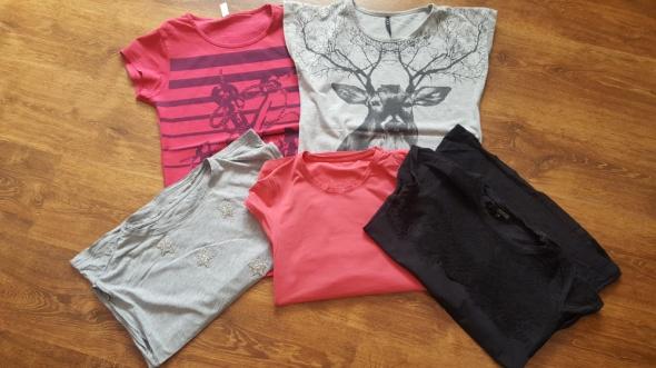 Paczka 5 tshirtów
