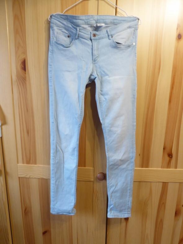 spodnie rurki jeans lxl...