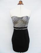 Tunika mini sukienka