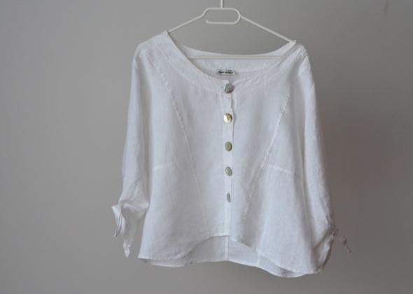 Lniana koszula Made in Italy