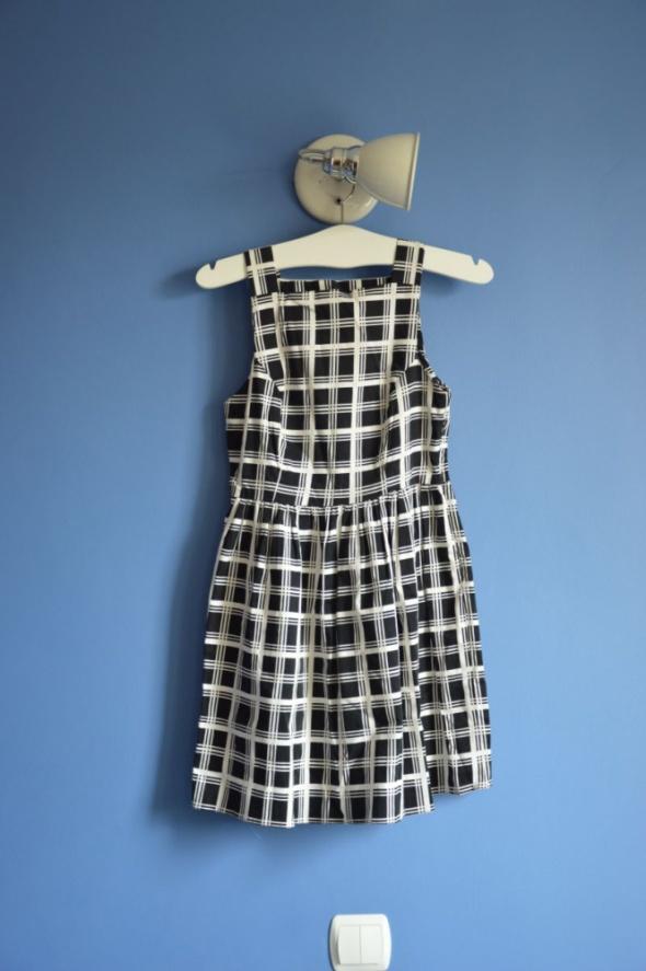 sukienka w kratkę SM