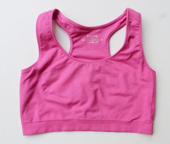 24d74c419b8c5c Biustonosze Stanik Sportowy Różowy XXL 44 Trening Róż Fitness Bieganie