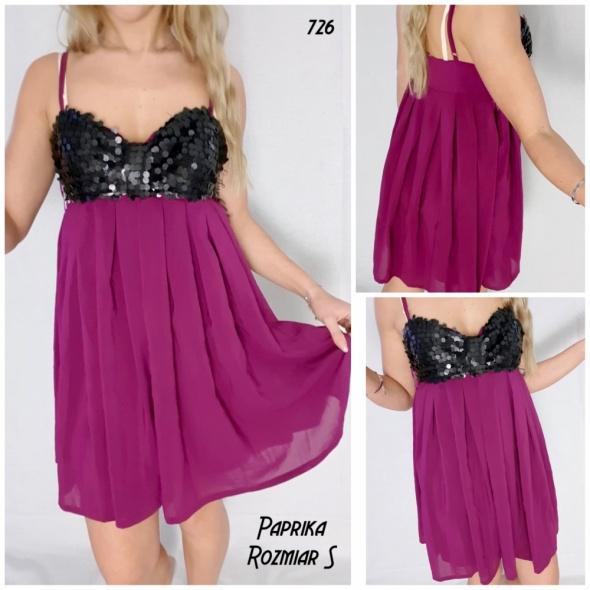 Sukienka Paprika S