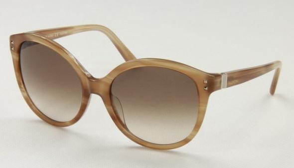 Valeintino beżowe okulary przeciwsłoneczne oryginalne