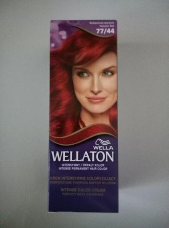 Wella Wellaton farba 77 44 Wulkaniczna czerwień krem koloryzujący