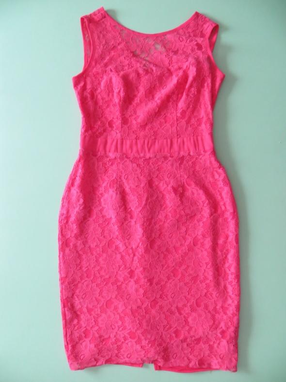 F&F różowa sukienka xs