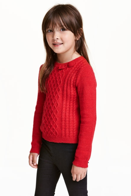 H&M Nowy sweterek 6 8 lat 122cm 128cm