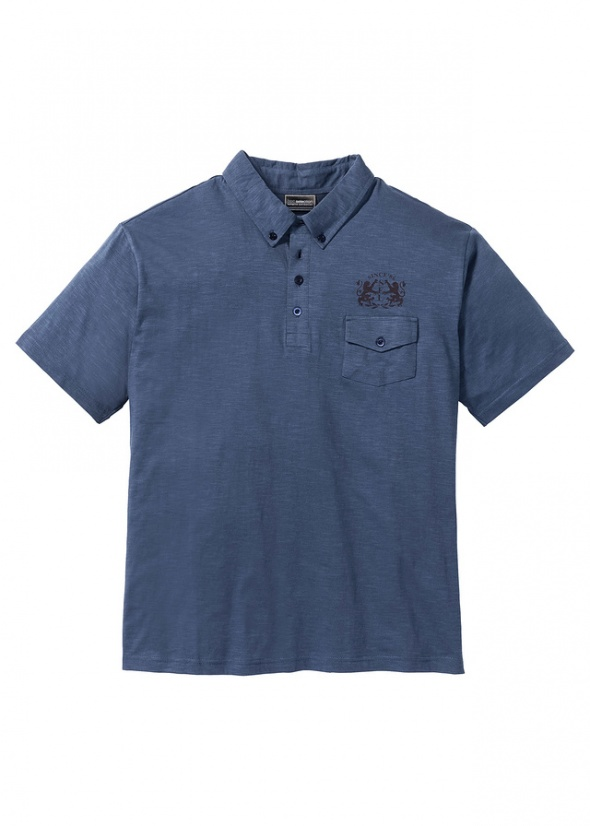 Bluzka shirt polo koszulka z kołnierzykiem MĘSKA 3XL