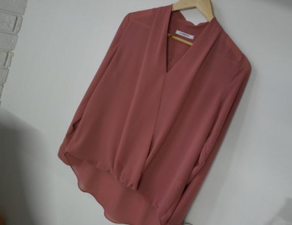 Glamorous koszula dekolt v zwiewna dusty pink r M...