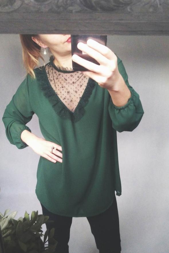 zielona bluzeczka