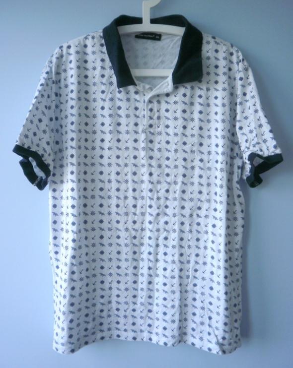 Cedarwood State koszulka polo marine wzory