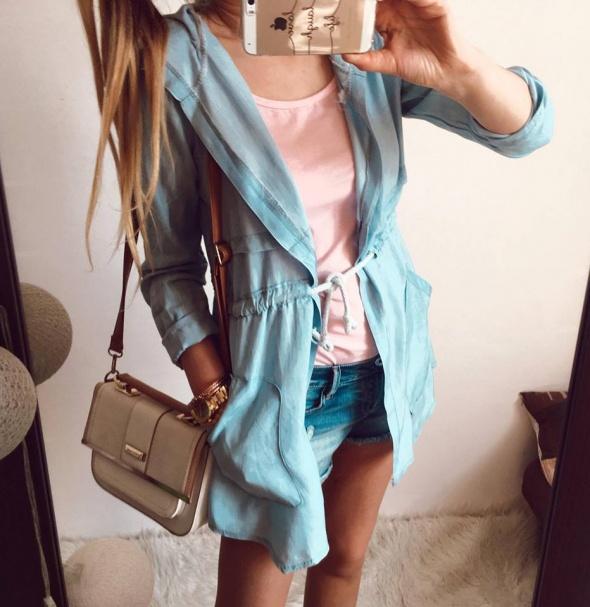 Narzutka Damska jeans M L