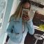 kurtka ramoneska baby blue 36 only