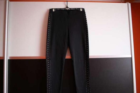 Czarne spodnie rurki legginsy H&M dżety xs 34...
