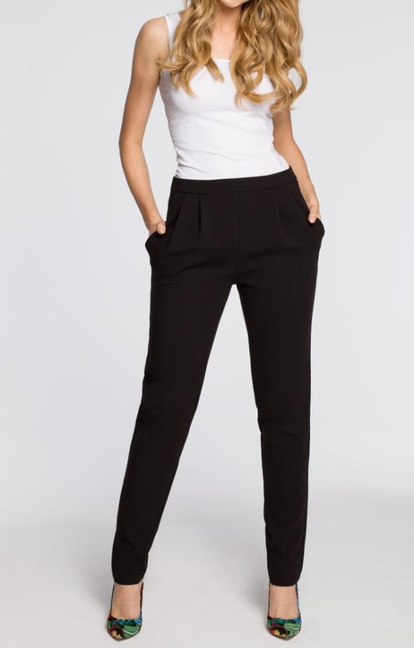 60fab2117d3d14 Spodnie Wyprzedaż Letnie eleganckie spodnie chinosy biurowe cygareki
