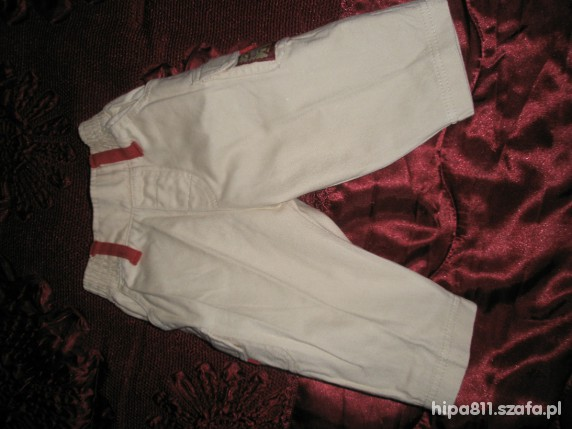 Spodnie i spodenki z tygryskiem