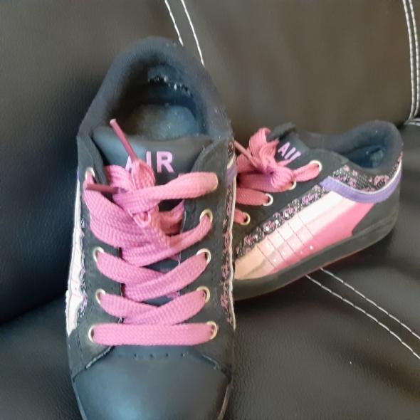 buty sportowe 31 adidasy czarne...