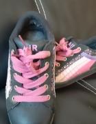 buty sportowe 31 adidasy czarne