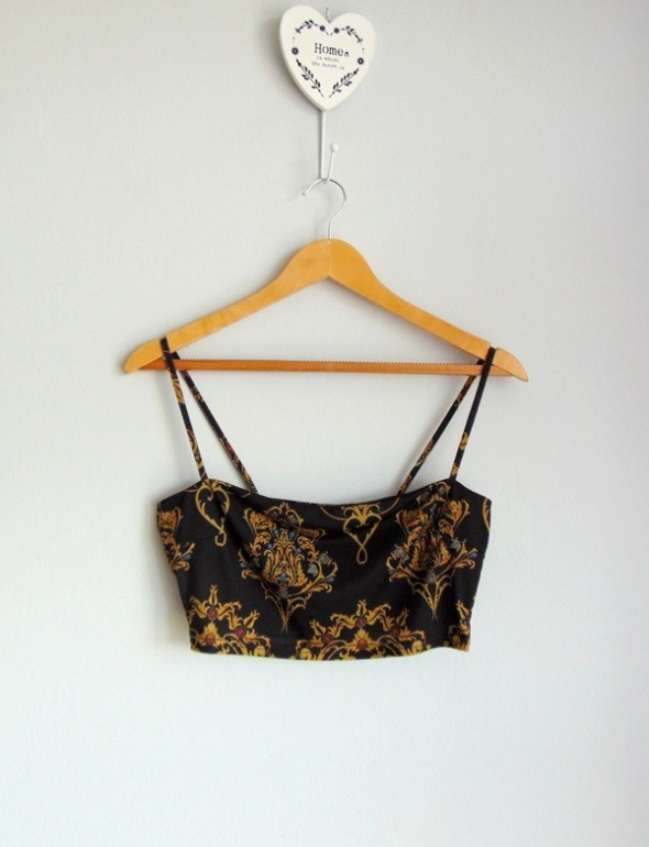 Missguided top cropped we wzory