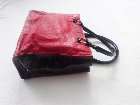 ALAN SAGAN skórzana torebka torba skóra naturalna