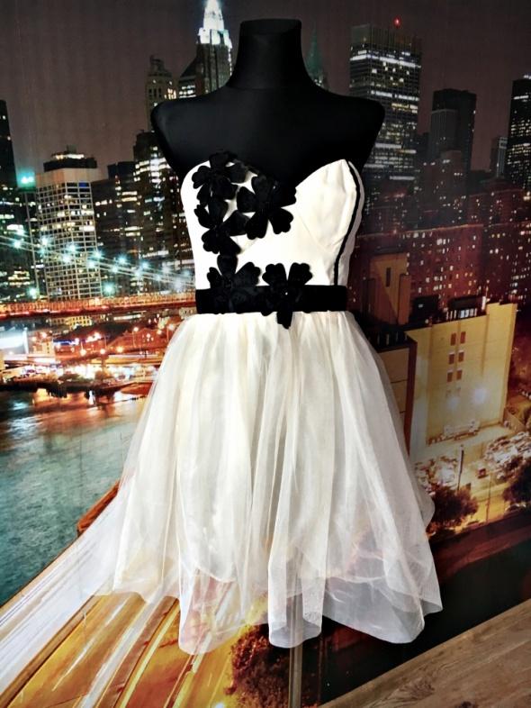 Suknie i sukienki lipsy london sukienka princeska tiul wesele nowa 40
