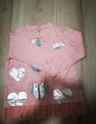 bluzka różowa pepco nowa r 104...