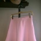 Rozkloszowana pudrowa spódnica sinsay xs nowa