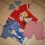 Zestaw chłopiec koszulki spodenki Lazy Town Angry Birds roz 104 110
