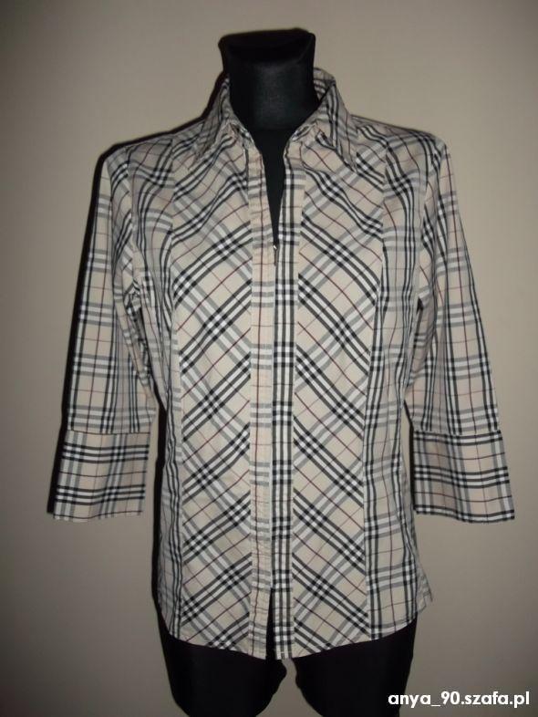 ala burbery koszula krata M na XL