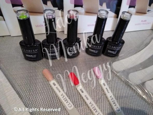 Paznokcie Zestaw startowy do manicure hybrydowego baza top 3 lakiery 10 pilników prezent