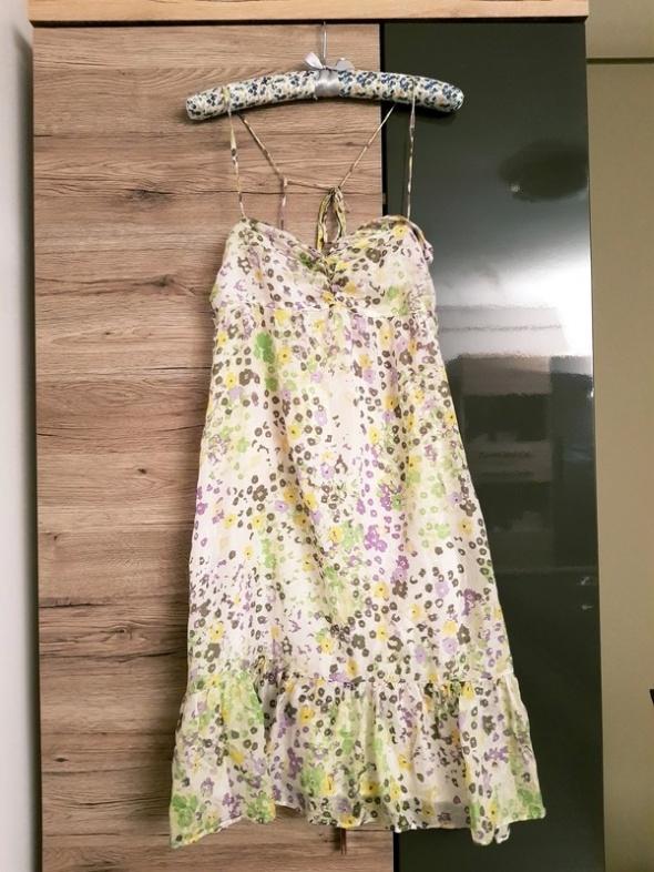 Suknie i sukienki Sukienka Reserved r 38 jedwab silk