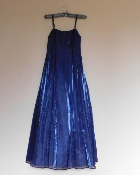 Debut Debenhams sukienka suknia fiolet 34...