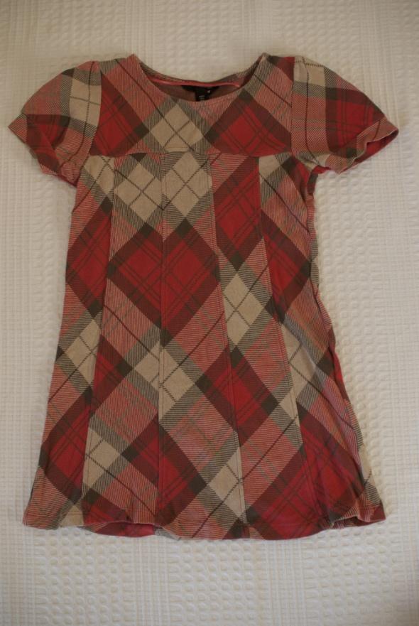 Krótka sukienka bawełniana H&M...